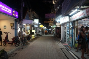 Walking street in Phi Phi Don