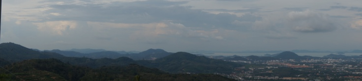 View from the top (Big Buddha)