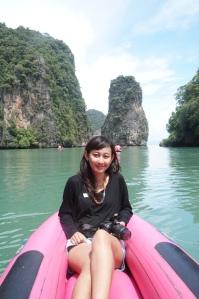 Canoeing @ Hong Island