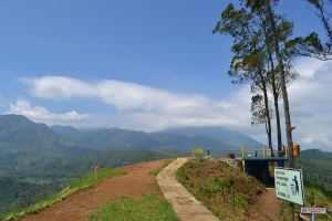 Lokasi Take Off, Gunung Banyak