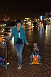 Rendra naik Maou Maou (koper yg sangat berguna)
