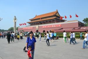 Pintu masuk menuju Forbidden City