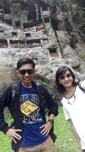 Selfie dengan partner travelling