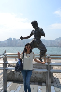 Patung Bruce Lee