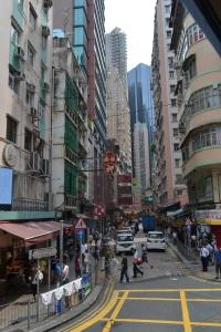 salah satu jalan di Hong Kong Island