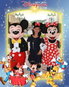 Hasil foto dari fotografer Disneyland
