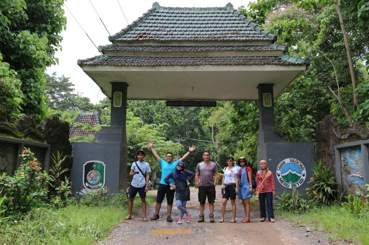 Pintu masuk Taman Nasional Meru Betiri